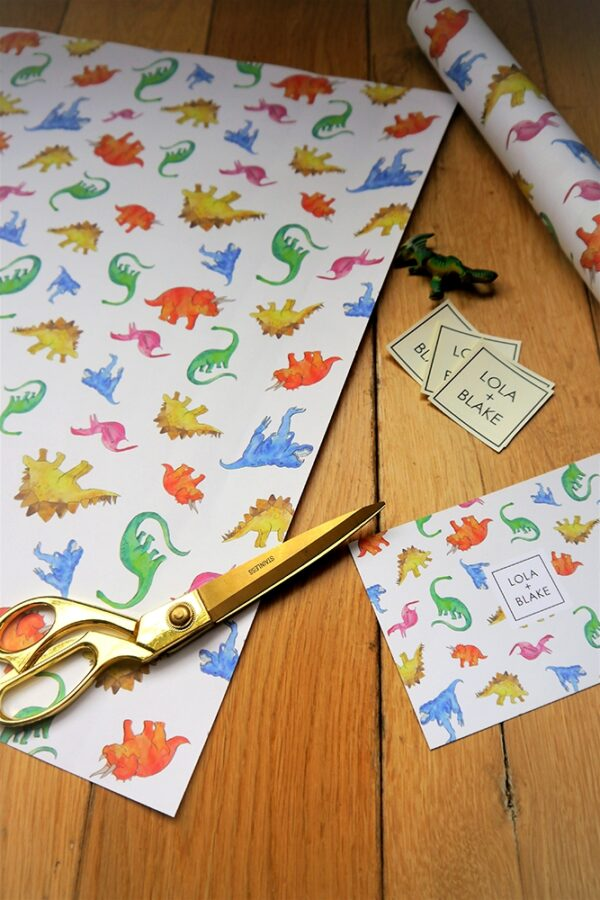 Wrapping Paper - Dinos-0