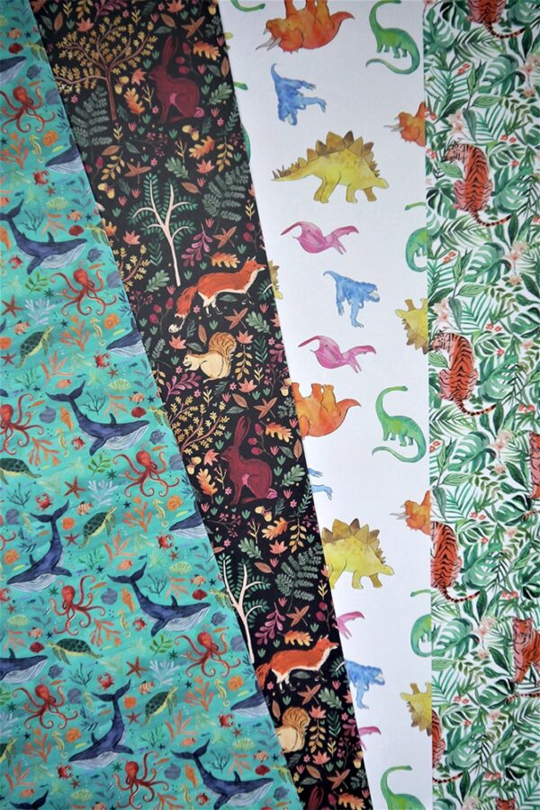 Wrapping Paper - Dinos-895