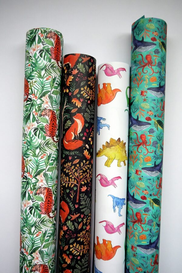Wrapping Paper - Dinos-894