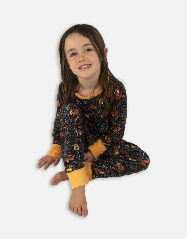 Jersey Pyjamas - Woodland-1400