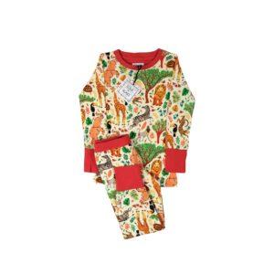 Jersey Pyjamas - Safari-0
