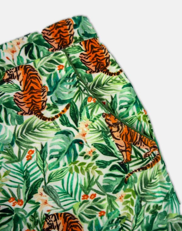 Women's Pyjama Bottoms - Jungle-1272