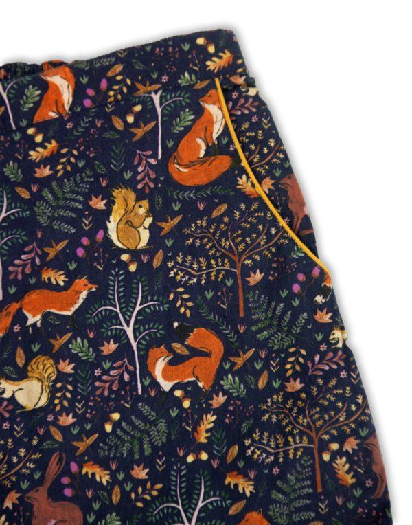 Women's Pyjama Set - Woodland-1287