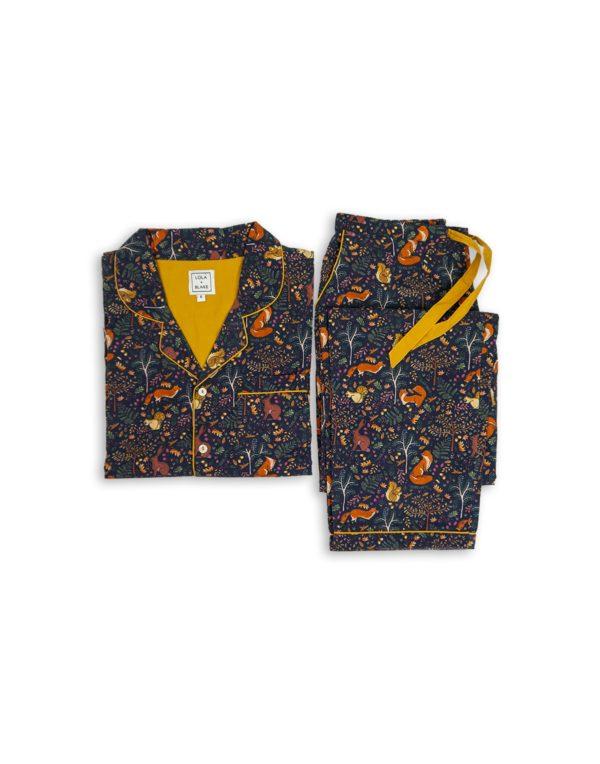Women's Pyjama Set - Woodland-1289