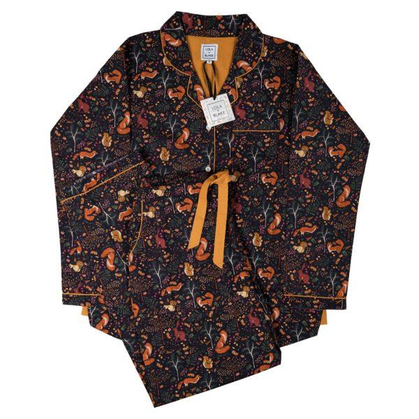 Women's Pyjama Set - Woodland-0